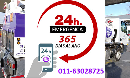 cumbustible emergencias